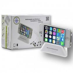 CARGADOR USB Y STAND TABLET Y SMARTPHONE KL-TECH