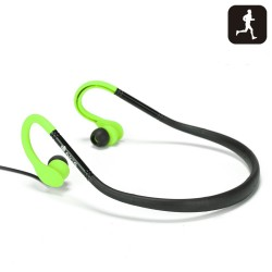 AURICULARES NGS GREEN COUGAR SPORT