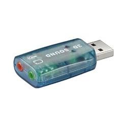 TARJETA DE SONIDO 3D SOUND EXTERNA USB