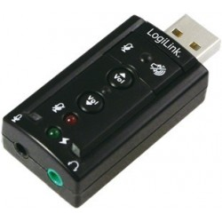 TARJETA DE SONIDO LOGILINK 7.1 USB UA0078
