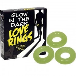 Pack 3 Anillo para el Pene Fluorescentes