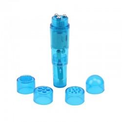Masajeador Hi-Basic 10.8 cm Azul