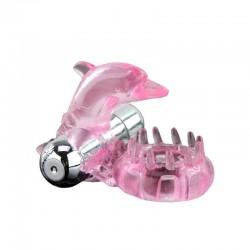 Baile Anillo Vibrador Love Dolphig Ring Rosa