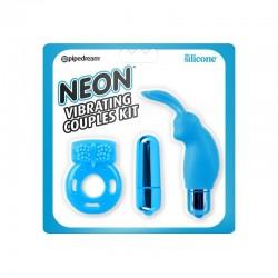 Neon Kit para Parejas Color Azul