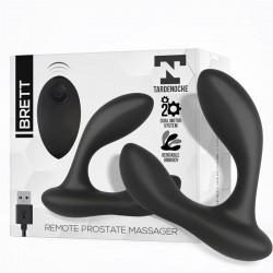 Brett Masajeador Prostático Control Remoto USB Silicona Líquida