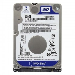 DISCO DURO INTERNO WESTERN DIGITAL BLUE WD5000LPCX - 500GB - 2.5' / 6.35CM - 5400RPM - SATA III