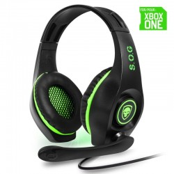AURICULARES CON MICRÓFONO PARA XBOX ONE SPIRIT OF GAMER PRO-XH5 - DRIVERS 40MM - CONECTOR JACK 3.5MM - CABLE 1M
