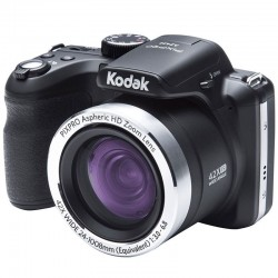 CÁMARA DIGITAL KODAK PIXPRO AZ422 NEGRA - 20MPX - LCD 3'/7.62CM - ZOOM 42X OPT - ANGULAR 24MM - VÍDEO HD - USB - BATERÍA LITIO