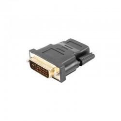 ADAPTADOR HDMI HEMBRA A DVI-D (24+1) MACHO LANBERG AD-0010-BK - MAX RESOLUCIÓN FULL HD