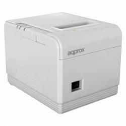 Impresora de tickets térmica approx apppos80am3wh - 300mm/s - papel 80mm - corte automático y manual - usb / lan / rs232 / rj11