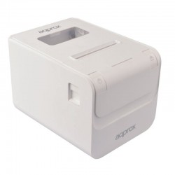Impresora de tickets térmica approx apppos80amusewh - 250mm/s - papel 80mm - corte automático - usb - lan - rs232 - rj11 para