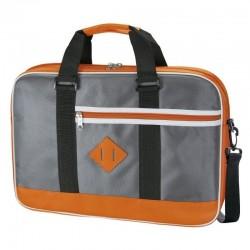 Maletín e-vitta looker naranja - para portátiles 15.4'-16'/39.1-40.64cm - bolsillo exterior - interior acolchado y reforzado 2