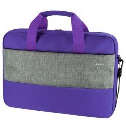 Maletín e-vitta master purple - para portátiles hasta 15.4'-16'/ 39.1-40.6 cm - interior acolchado - bolsillo exterior - correa