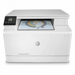 Multifuncion hp laserjet pro color m182n - 16/16ppm - scan 1200ppp - usb - lan - eprint / airprint - bandeja entrada 150 hojas