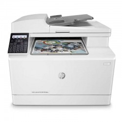 Multifunción hp wifi con fax laserjet pro color m183fw - 16/16ppm - scan 1200ppp - adf - usb - lan - bandeja entrada 150 hojas