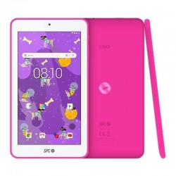 Tablet spc laika 7 rosa - qc a35 1.3ghz - 1gb ddr3 - 8gb - 7'/17.78cm ips hd - cam frontal videollamada - bt 4.0 - bat 2500mah