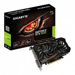 Tarjeta gráfica gigabyte geforce gtx 1050 oc 2g - 1379/1493 mhz - 2gb gddr5 - 128 bit - pciex 3.0 - dvi-d / displayport / hdmi