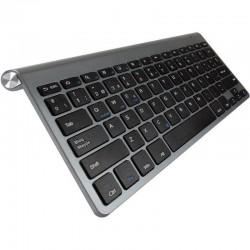Teclado bluetooth subblim 2puc101 pure compact grey - bt 3.0 - 78 teclas - compatible con apple/android/windows - incluye