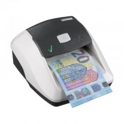 Detector de billetes ratio-tec soldi smart - para euros - detección ir | mg | bm | sd - led y señal acústica - formato compacto