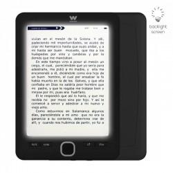 Lector de libros electrónico ebook woxter scriba 195 paperlight black - 6'/15.24cm retroiluminada - tinta electrónica - res