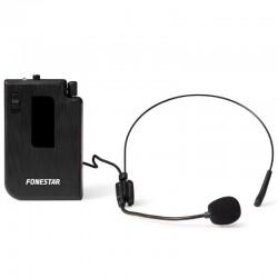 Micrófono inalámbrico de petaca fonestar msht-19 - 188.5mhz - para usar con altavoz california