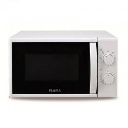 Microondas con grill flama 1884fl blanco - 700w / grill 1000w - 20l - 5 programas automáticos - función descongelación