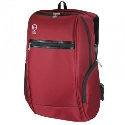 Mochila e-vitta elite backpack red - para portátiles hasta 15,4'-16'/39.11-40.64cm - conector usb para powerbank - 2