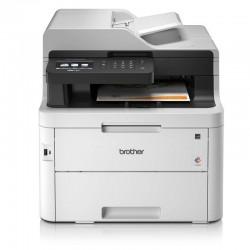 Multifunción brother wifi con fax láser color mfc-l3750cdw - 24ppm - duplex - scan 1200*1400ppp - entrada 250 hojas - lan - usb