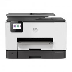 Multifunción hp wifi con fax officejet pro 9020 - 24/20ppm - duplex - scan doble cara - usb host - lan - adf - bandeja 250