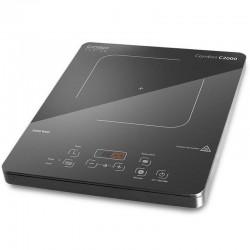 Placa de inducción caso design comfort c2000 - 2000w - panel control táctil - termostato regulable 60-200º - detección