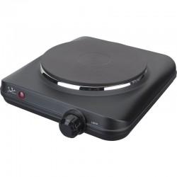 Placa eléctrica de cocina jata ce150 - 1500w - 1 termostato regulable - 1 placa calorífica - pilotos luminosos - protecc.
