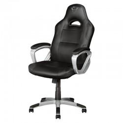 Silla gamer trust gaming gxt 705 ryon black - cilindro gas clase 4 - asiento reclinable - bastidor madera - peso máx. 150kg