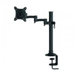 Soporte de escritorio 3go tvsop-d3 - para pantallas planas 13/24' (33/60.9cm) - inclinación 15º - giro lateral 180º - vesa