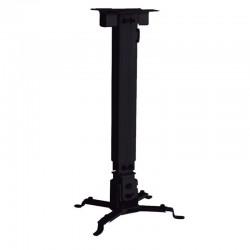 Soporte de techo para proyector approx appsv01 - distancia techo 430-650mm - inclinación vertical +/-15º - peso máximo 10kg -