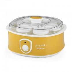 Yogurtera ariete 617 - 20w - 1.3l - 7 tarros yogur con tapa roscada - tiempo preparación 10-12h