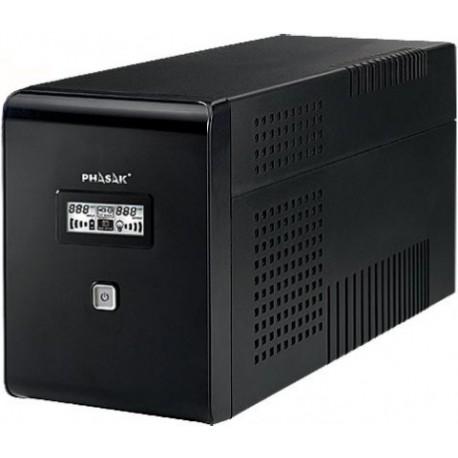 SAI/UPS 2000VA PHASAK DISPLAY LCD AVR 2XSCHUKO PH 9420