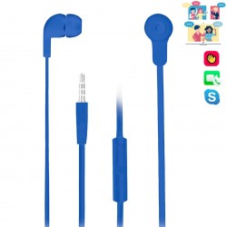 Auriculares intrauditivos ngs cross skip blue