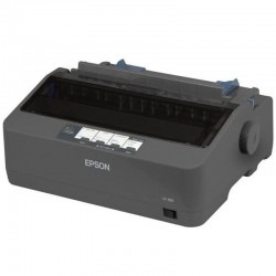 IMPRESORA EPSON LX-350 MATRICIAL 9 AGUJAS 128KB MONOCROMÁTICA PARALELO/USB 220V