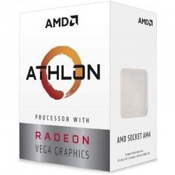 PROCESADOR AMD ATHLON 3000G - 3.5GHZ - SOCKET AM4 - GRÁFICA INTEGRADA RADEON VEGA 3