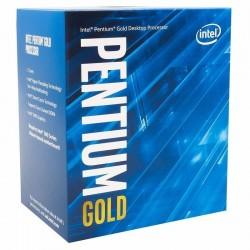 PROCESADOR INTEL PENTIUM GOLD G5420 - DUAL CORE - 3.80GHZ - LGA1151 8TH GEN - 4MB CACHE - UHD GRAPHICS 610