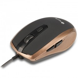 RATON CON CABLE NGS TICK GOLD - 800/1600DPI - 6 BOTONES - USB