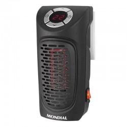 CALEFACTOR MONDIAL A12 PLUG HEATER - 350W - PANTALLA LED - TEMPORIZADOR 12H - DESCONEXION AUTOMATICA