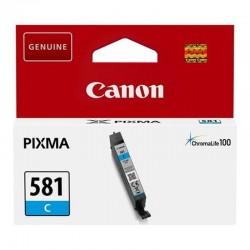 CARTUCHO TINTA CIAN CANON CLI-581C - 256 PÁGINAS - COMPATIBLE SEGÚN ESPECIFICACIONES