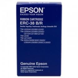 CINTA NYLON EPSON ERC-38 BLACK/RED - COMPATIBLIDAD SEGÚN CARACTERISTICAS