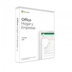 MICROSOFT OFFICE HOGAR Y EMPRESAS 2019 - WORD - EXCEL - POWERPOINT - OUTLOOK - 1 USUARIO - LICENCIA PERPETUA - NO CD