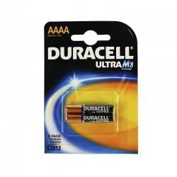 PACK DE 2 PILAS AAAA DURACELL ULTRA - 1.5V - ALCALINA