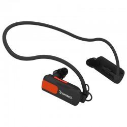 REPRODUCTOR MP3 SUNSTECH TRITÓN BLACK 4GB - WATERPROOF SUMERGIBLE HASTA 3 METROS - BAT 180MAH - DISEÑO ERGONÓMICO