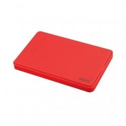 CAJA EXTERNA 2.5 USB 2.0 SATA APPROX ROJO