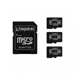 MEM MICRO SDHC 32GB KINGSTON CANVAS SELECT+ADAPT