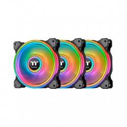 VENTILADOR 120X120 THERMALTAKE RIING QUAD 12 RGB TT 3UDS